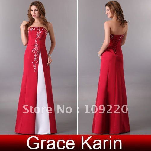 Free Shipping GK Sexy Formal Prom Gown Bridesmaid Cocktail Party Evening Dress 2013 8 Size CL3132 $41.72