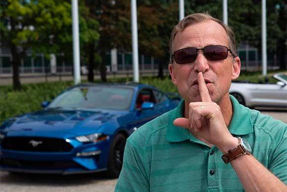"""Ford divulgou um novo recurso do Mustang GT 2018, que pode ser chamado de """"modo bom vizinho""""."""