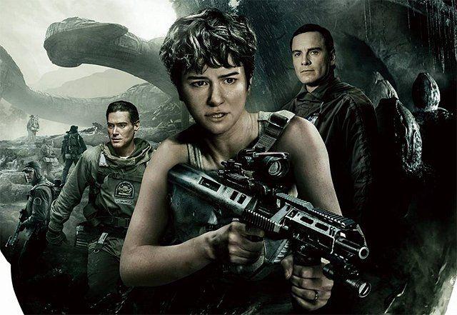 New International Alien: Covenant Poster is Locked & Loaded