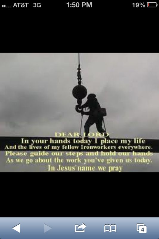 Riggers prayer | Crane operator | Girls world, Movie ...