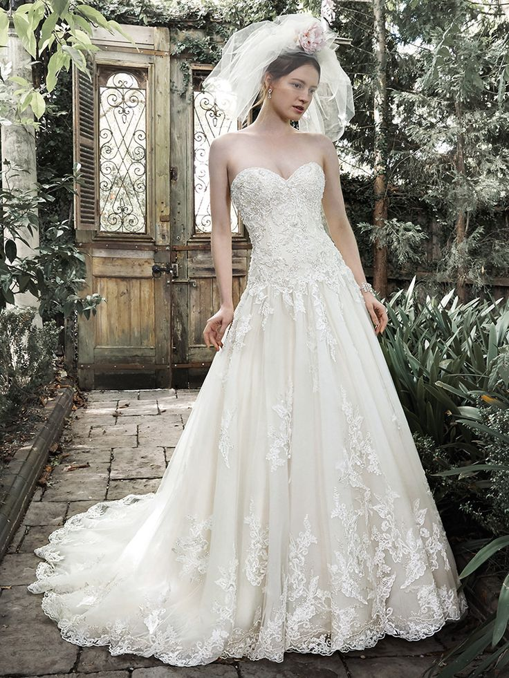 Ivory Light Gold Size 14 Marys Designer Bridal Boutique In Annapolis Maryland Has A Huge Selection Of Maggie Sottero Wedding Dresses