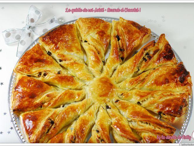 Recette Dessert : Galette du roi soleil : amande & chocolat par…