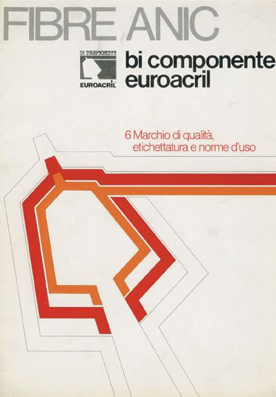 Fibre Anic - bi componente euroacril copertina per brochure