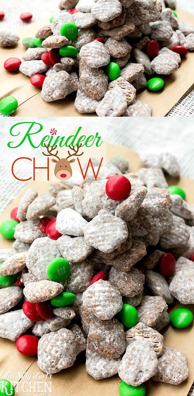 Reindeer Chow Muddy Buddies
