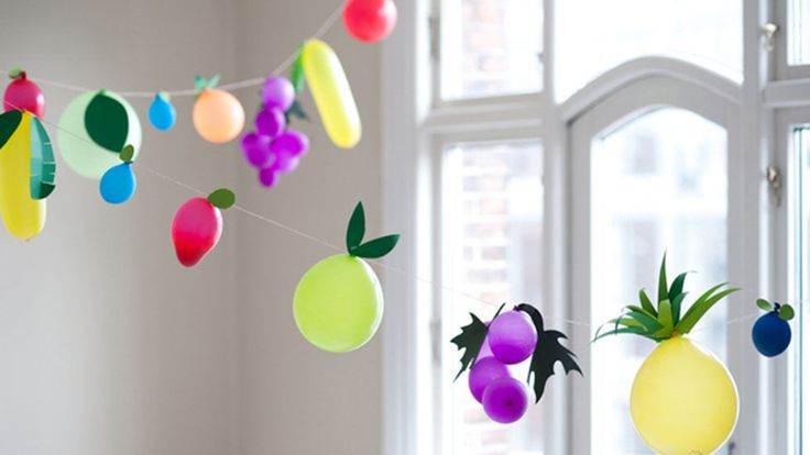 7 Unexpected Ways to Use Balloons At Your Next Party: Your eyes will pop over these ideas.