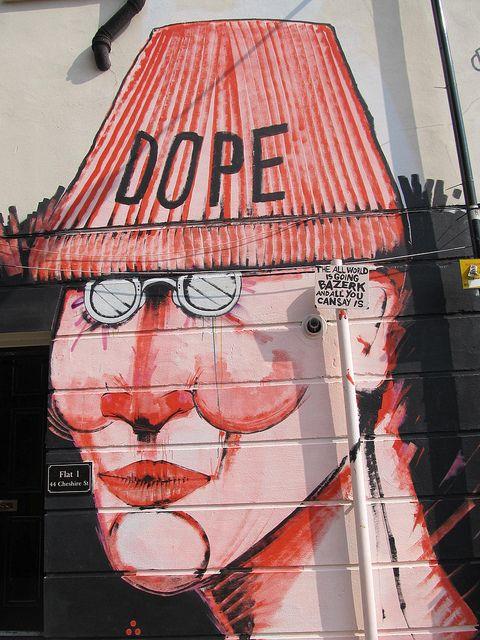 "Artist :Run...streetart ""in London"""