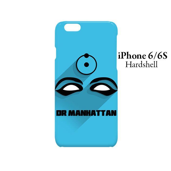 Dr Manhattan Superhero iPhone 6/6s Hardshell Case