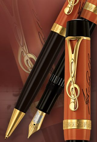 Montblanc Fountain Pen Johann Sebastian Bach Special Edition   or any fountain pen