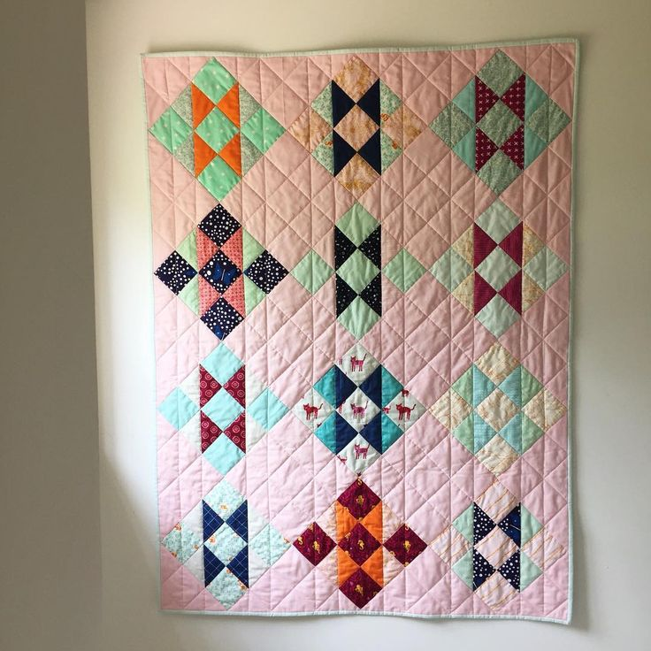 Fussy Cut Baby Quilt - Dorie Schwarz