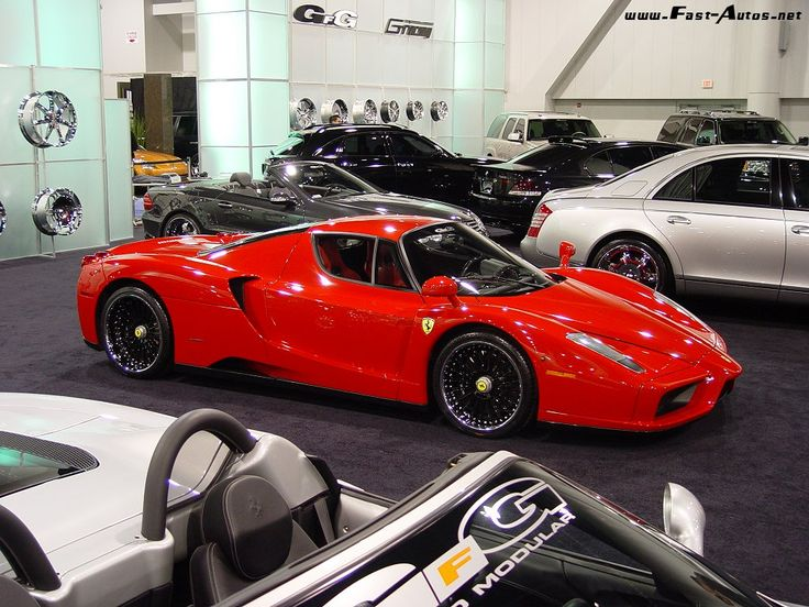 west coast customs enzo ferrari modified enzo red black wheels http www fast autos net enzo attached karz pinterest west coast autos and red - Ferrari Enzo Black Rims