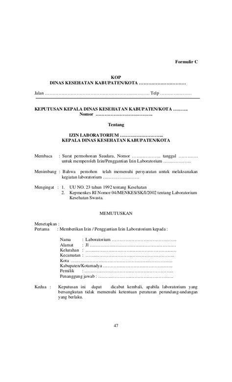 Contoh Surat Permohonan Bantuan Pemeriksaan Kesehatan Contoh Surat