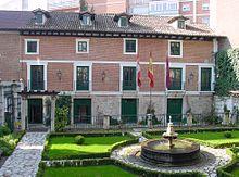 Casa que ocupó el escritor en Valladolid entre los años 1604 y 1606