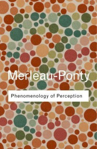 "Phenomenology of Perception  by Maurice Merleau-Ponty, Colin Smith (Translator) -     Together with Sartre, Merleau-Ponty was the foremost French philosopher of the post-war period and Phenomenology of Perception, first published in 1945, is his masterpiece. What makes this work so important is that it returned the body to the forefront of philosophy for the first time since Plato.""    https://www.goodreads.com/book/show/18279.Phenomenology_of_Perception?ac=1&from_search=true"