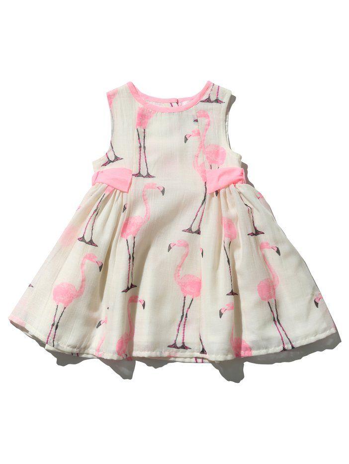 M&Co. Baby BABY GIRLS FLAMINGO DRESS