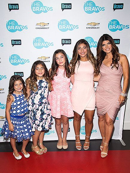 Girls Night Out! Teresa Giudice Hits the Red Carpet with All 4 Daughters| Babies, The Real Housewives Of New Jersey, The Real Housewives of..., People Picks, TV News, Teresa Giudice