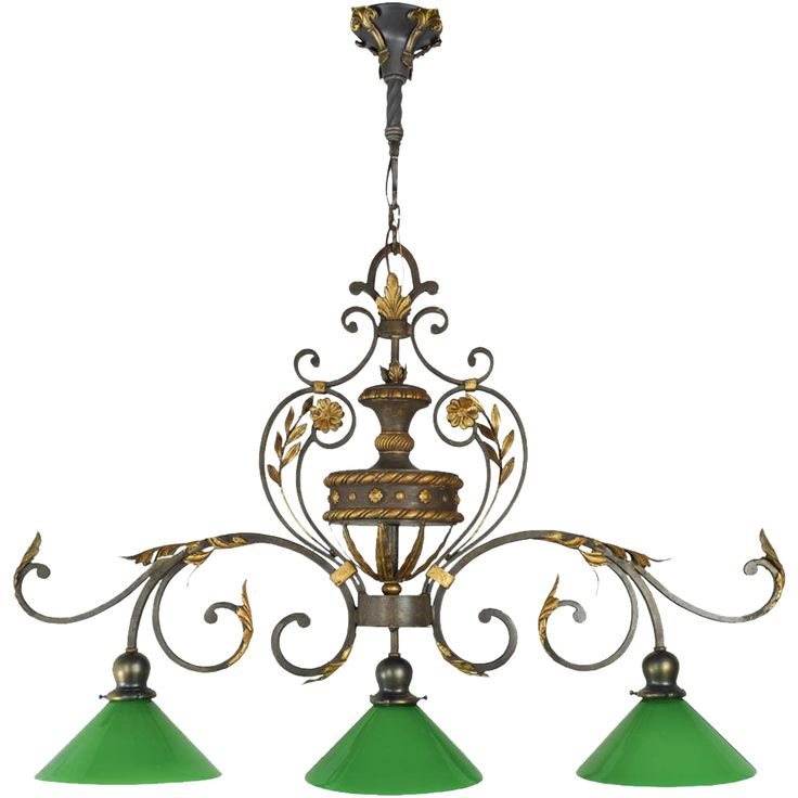 Vintage 1920s Pool Table Light Fixture - Victorian Style Game or Billiard Table Chandelier (ANT-459)
