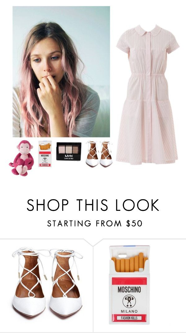 """""""L'One  – Марсианин (при уч. Jasmine)"""" by asmin ❤ liked on Polyvore featuring Olsen, Moschino, NYX and Lambs & Ivy"""