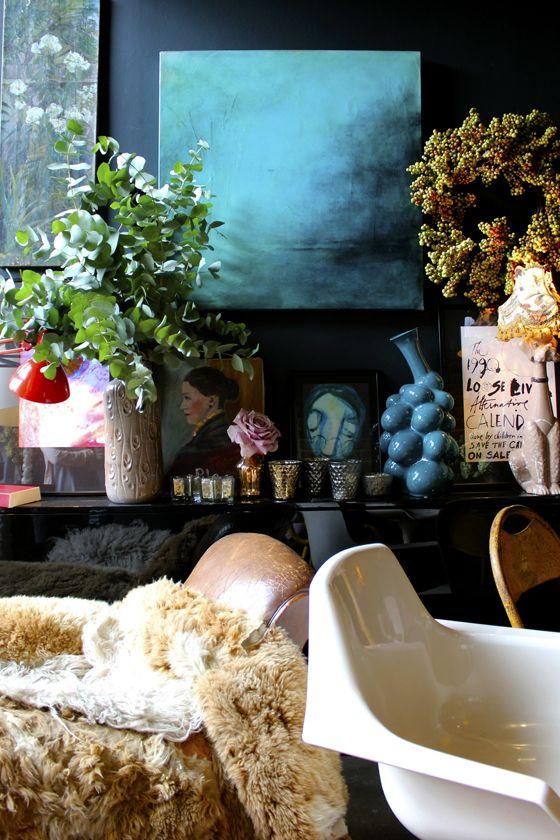 Abigail Ahern's home - part 2 | Eclectic Home Decor | Loft ...