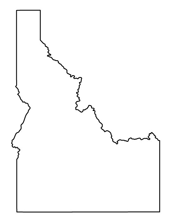 forward printable state outlines printable outline state capital maps ...