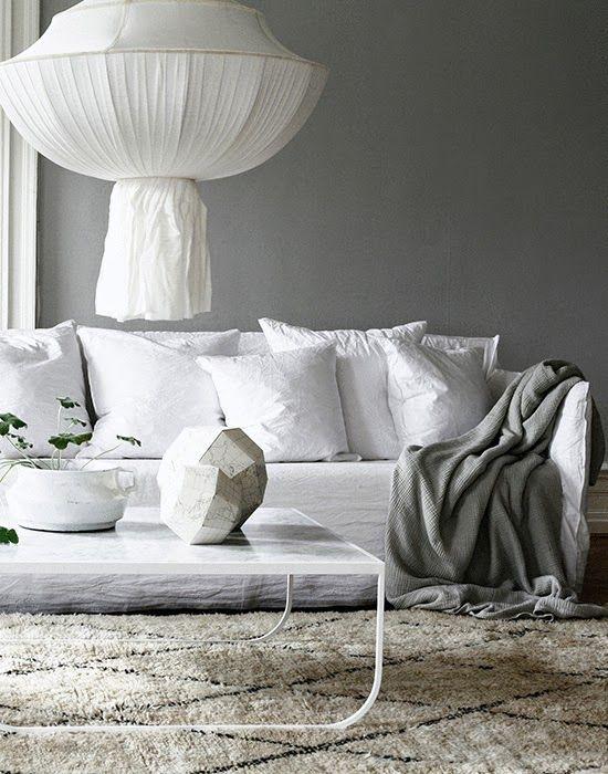 Méchant Studio Blog: the white linen sofa i need