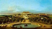 "New artwork for sale! - "" The Schloss Hof Garden Side 1758 by Bellotto Bernardo "" - http://ift.tt/2iP5QUr"