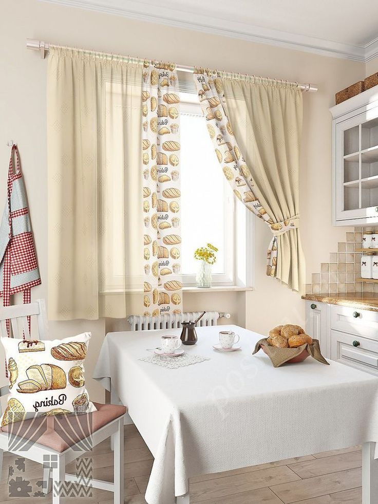 49 идей для пошива кухонных штор и занавесок | Журнал ...