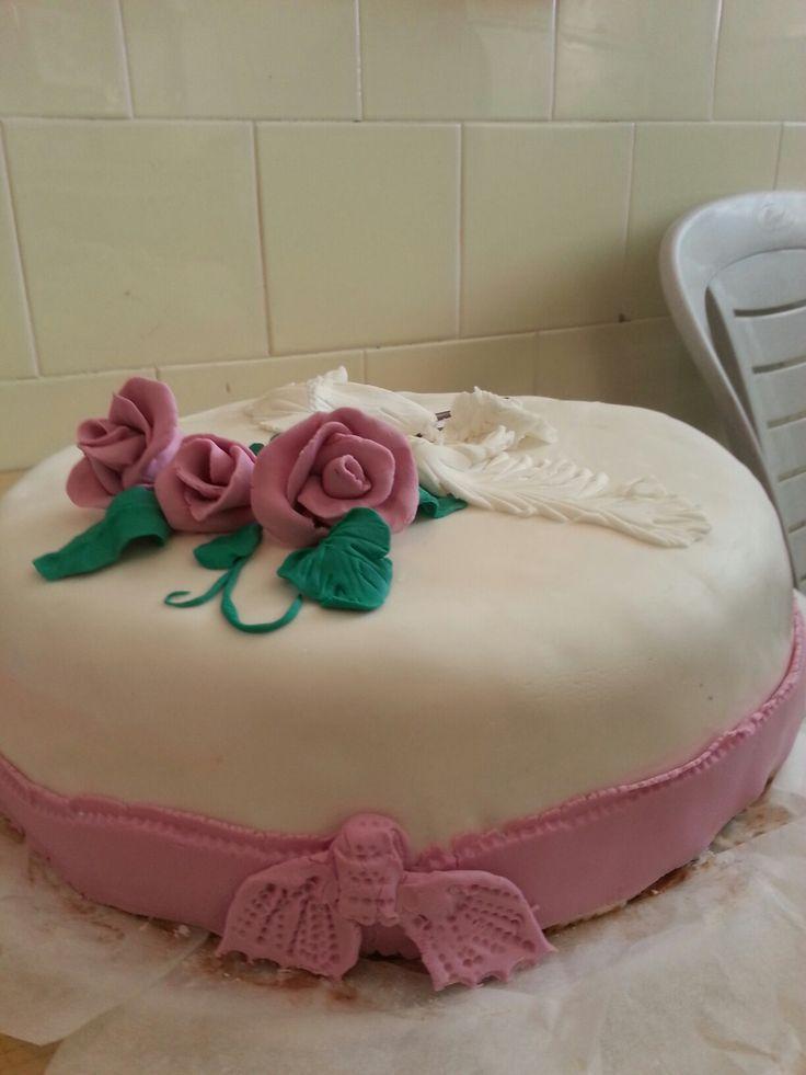 мой первый торт