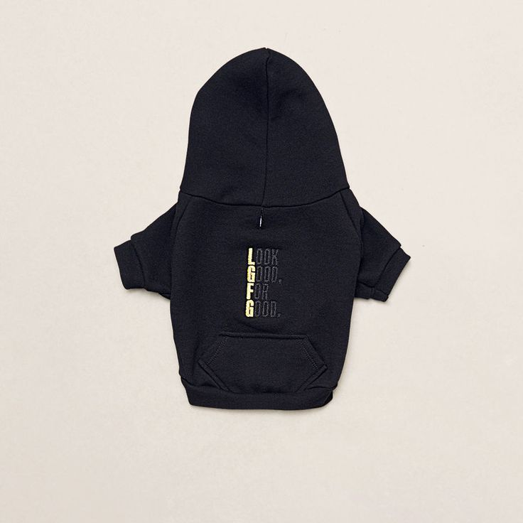 'LOOK GOOD FOR GOOD' DOG HOODIE - KENNETH COLE NEW YORK