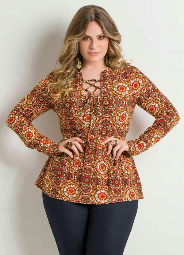 Moda Plus-size - Elegância e conforto