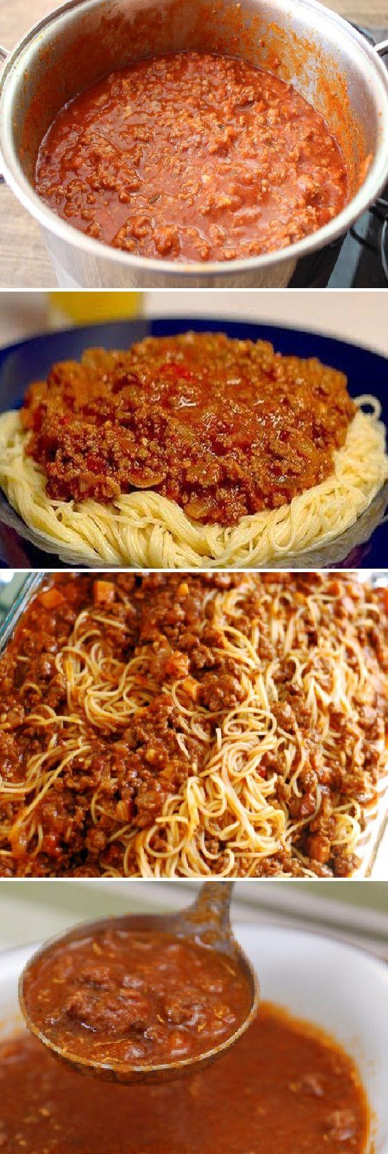 Cómo hacer Salsa Boloñesa ¡La receta original. #pasta #pastasalad #boloñesa #carne #cerdo #tomate #italy #ensaladas #salad #receta #recipe #tasty #food Si te gusta dinos HOLA y dale a Me Gusta MIREN…