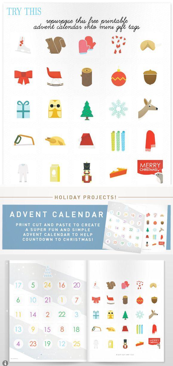 Calendar Diy Printable : Best advent calendars images on pinterest