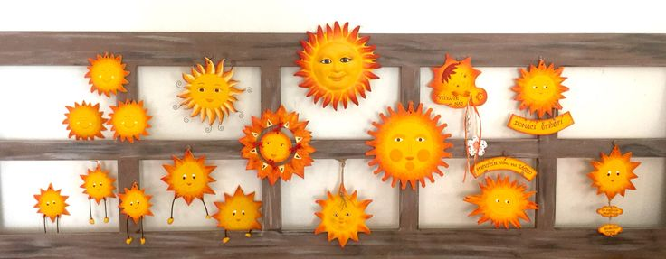Sluníčka z naší výroby