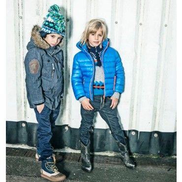 Molo Kids Hackett Electric Blue Coat