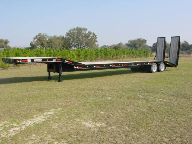 35 ton equipment trailer