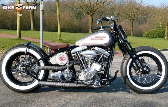 Bobber Inspiration | Bobbers & Custom Motorcycles | Shovelhead custom bobber