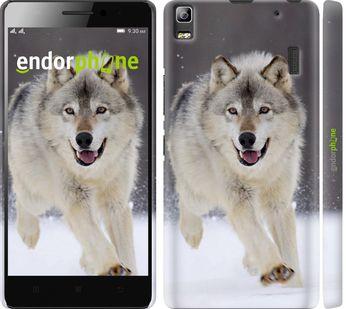 """Чехол для Lenovo A7000 """"Бегущий волк"""""""