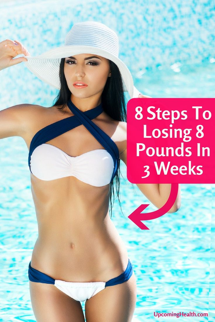 8 Steps to Lose 8 Pounds in 3 Weeks