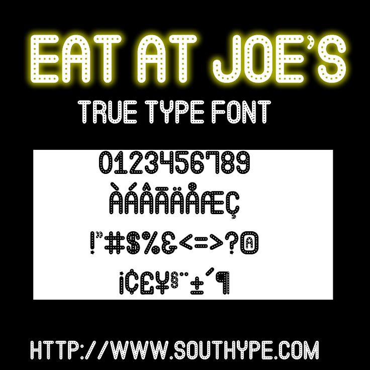 Eat at Joe's ST – Southype