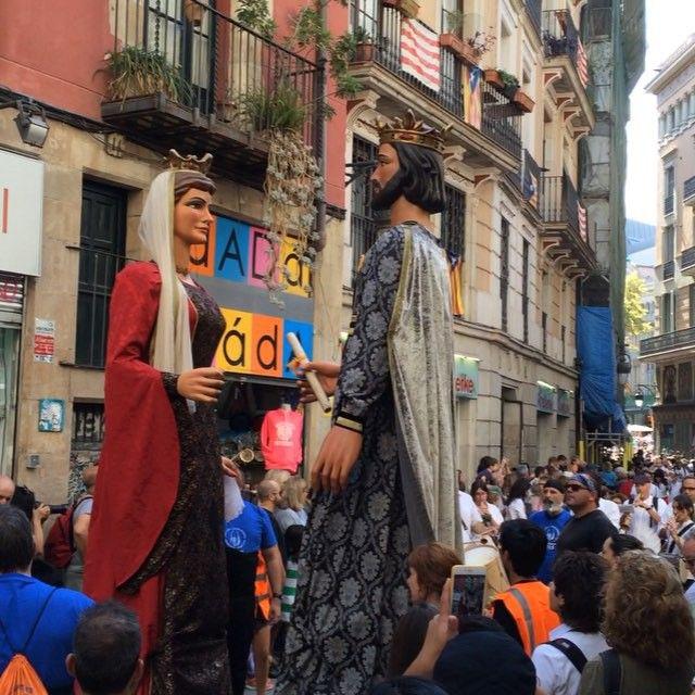 Festival de la Mercè 🎉🎉 #lamerce #lamercè #barca #barça #barcelona #españa #spain #fest #festival #europa #europe #travel #traveling #trip #backpack #backpacker