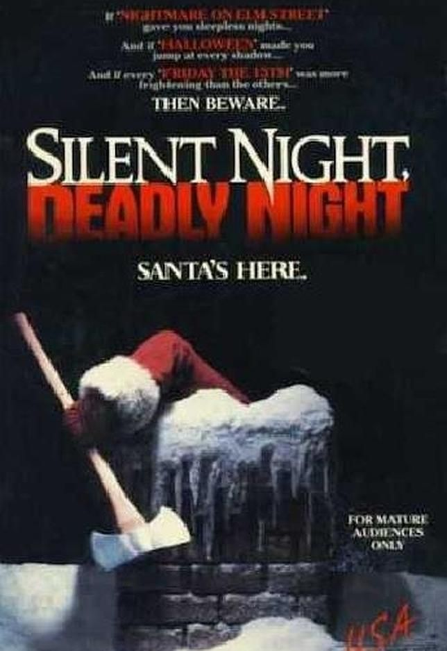 «Noche silenciosa, noche de muerte» es una película de terror estrenada en 1984 y una de las primeras que protagonizó una polémica en torno ...