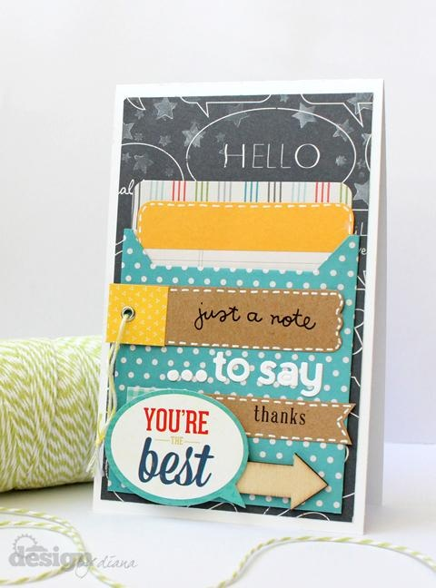 You're the Best by. @Diana Fisher created with the February 2013 #CocoaDaisyKit Double Feature