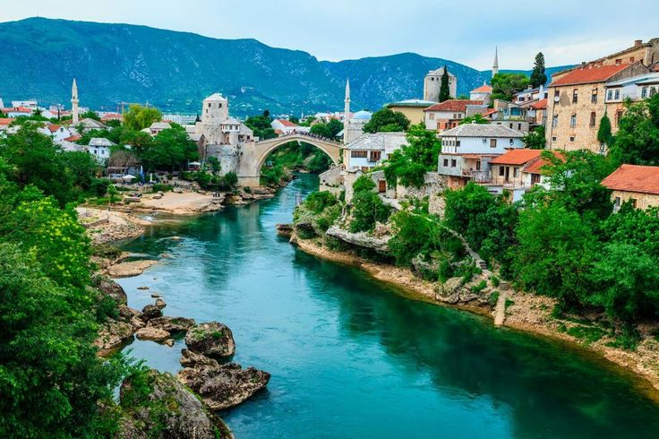 While most travellers to Eastern Europe visit Sarajevo, the Bosnian capital, the smaller city of Mostar in the Herzegovina region is well worth the trip. The picturesque city is home to the Balkans' most celebrated bridge, Stari Most, a magical stone arch that connects two medieval towers, with the shopping streets that spring up either side of it full of market sellers peddling their wares. Surrounded by verdant mountains perfect for hiking, this city really comes alive in the summer…