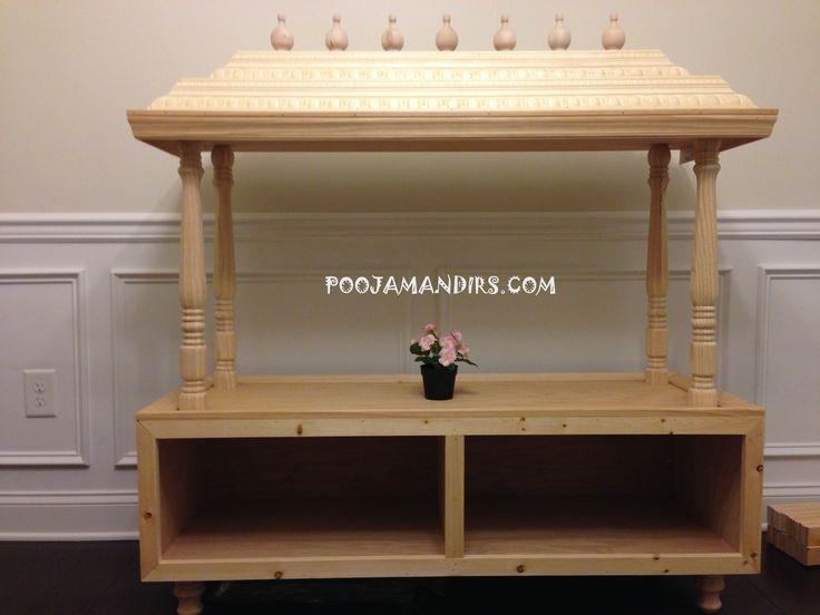 Custom Pooja Mandirs   Made in the USA (Cary, North Carolina)