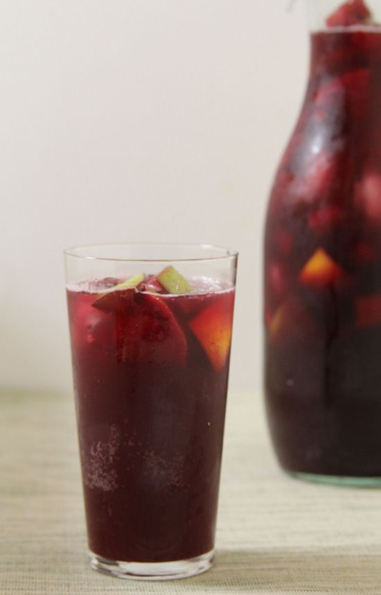 Cool Off With a Glass of Classic Red Sangria