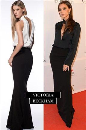 Milla by trendyol - Gece Koleksiyonu - Siyah Beyaz Elbise MLWAW154259 sadece 149,99TL ile Trendyol da