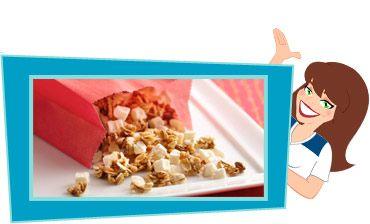 Hungry Girl-Nola....165 calories; 4pt+,: Low Calories Snacks, Hungry Girlnola, Weights Watchers, Granola Recipes, Girls Nola Recipes, Hungry Girl Recipes, Healthy Breakfast Recipes, Hungry Girls Nola, Girls Recipes