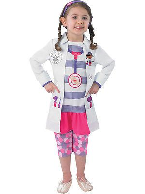 Child #disney doc mcstuffins #fancy dress costume book week #doctor kids girls bn,  View more on the LINK: http://www.zeppy.io/product/gb/2/350969003524/