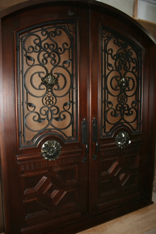 Custom made Honduran mahogany door for one of our customers in Illinois. & 51 best Mahogany Doors images on Pinterest | Puertas Honduras and Doors