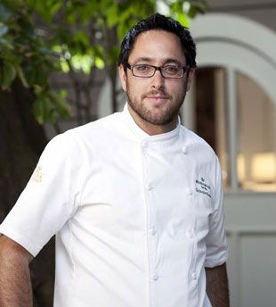 Chef Christopher Kostow, Executive Chef, The Restaurant at Meadowood