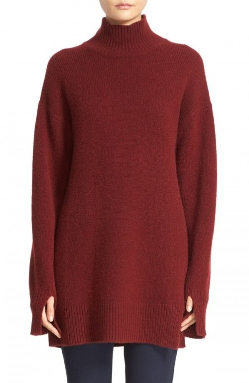 Joseph+Women's+High+Neck+Cashmere+Tunic+|+Top,+Cloak+and+Clothing